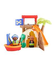ELC Happyland Kalóz Öböl kunyhóval, ladikkal és figurával