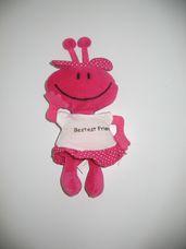 Pink színű eredeti RUSS berrie figura
