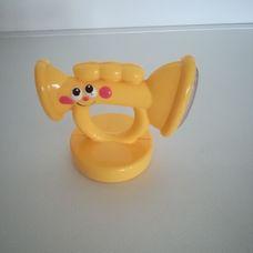 Fisher Price trombita alakú csörgő