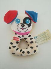 Playskool puha plüss bébicsörgő kutyus figurával