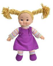 Simba Dolly rongybaba lila ruhácskában