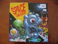 Space Checkers társasjáték