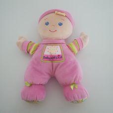 Fisher Price Első babám csörgő fejű puha rongybaba