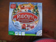 Rudolf, a piros orrú rénszarvas angol társasjáték DVD-vel
