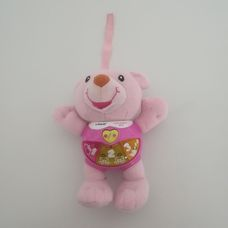 Interaktív vtech éneklő rózsaszín hasú Alfie maci