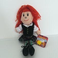 Címkés Kayleigh skót táncos rongybaba