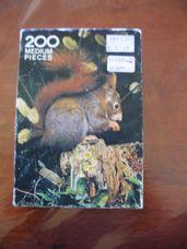 200 darabos mókuska puzzle