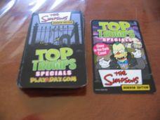 Top Trumps The Simpons Horror edition kártyajáték