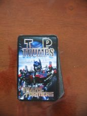Top Trumps Transformers kártyajáték