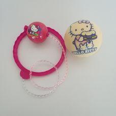 Hello Kitty mintájú szivacslabdák