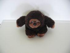 Csillogó sötétbarna plüss gorilla