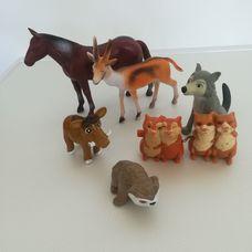 6 darabos vadon élő állatok csomag
