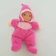 Mothercare rózsaszín rugis puha testű baba sípoló hassal