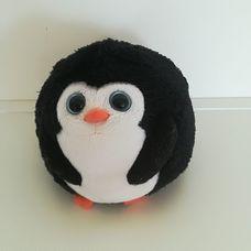 Ty nagyszemű plüss pingvin mintájú labda