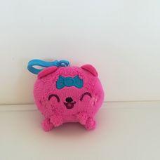 Mini plüss rózsaszín Moshi Monsters Purdy plüss kulcstartó