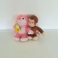 2 darabos plüss majom szett - A bajkeverő majom