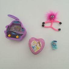 Lányos játékszett lila rózsaszín elemekkel