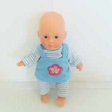 Simba puha törzsű kék szemű baba eredeti kék ruhában