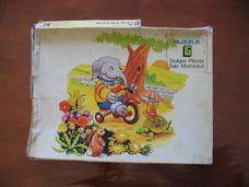 6 darabos elefántos puzzle