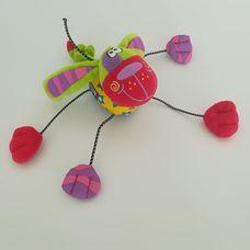 Playgro csörgő zörgő plüss kutya bébijáték