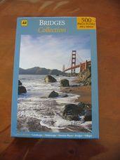Golden Gate híd 500 darabos puzzle