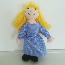The Puppet Company szőke hajú kislány báb