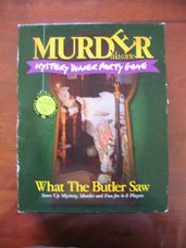 Murder á la carte: What the Butler Saw, bűnügyi társasjáték