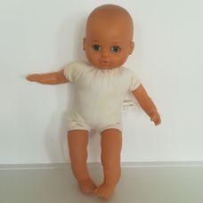 Lissi puha törzsű alvós csecsemő baba ruha nélkül