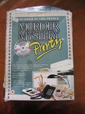 Murder Mistery Party - in the Office bűnügyi társasjáték