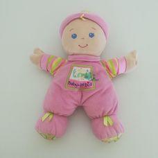 Fisher Price Első babám csörgő fejű rongybaba