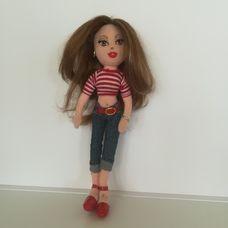 TY Girlz Jammin Jenna fésülhető barna hajjal