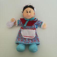 Fiesta Crafts Judy a babájával kézbáb figura