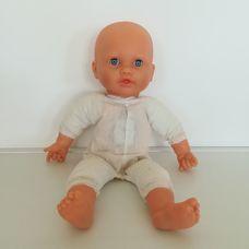 Interaktív puha törzsű csecsemő baba ruha nélkül