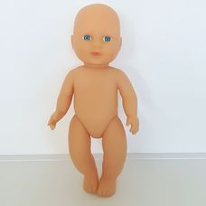 BS kék szemű pisilős baba ruha nélkül 30 cm
