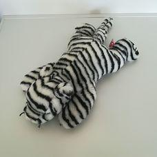 TY Beanie Buddies fehér tigris plüss