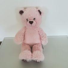 Csillogó rózsaszín bundájú Build-a-bear macilány