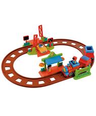 Új ELC Happyland vonatszett figurákkal és haladó vonattal