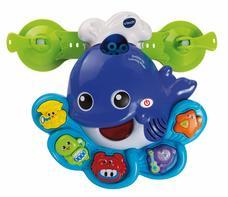Vtech buborékfújó bálna zenélő fürdőszobai játék