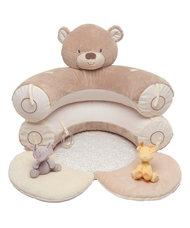 Mothercare Teddy macis felfújható babafotel és játszószőnyeg