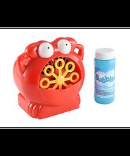Crab bubble machine piros buborékfújó rákocska