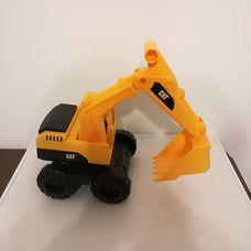 CAT sárga fekete műanyag homlokrakodó munkagép