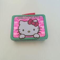 Hello Kitty mintájú csatos fémbőrönd kislányoknak