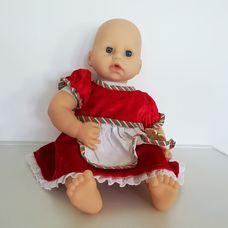 Zapf Baby Annabell interaktív csecsemő baba piros ruhában