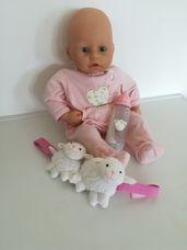 Zapf Baby Annabell interaktív csecsemő baba baris csörgővel