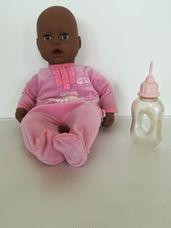Zapf Baby Annabell interaktív néger csecsemő baba