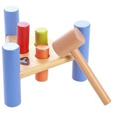 ELC fából készült kalapácsos játék