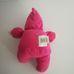 ASDA pink rugdalózós kapucnis puha rongybaba