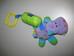 Babakocsira akasztható NUBY csörgős víziló plüss figura