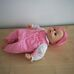 Zapf Baby Annabell interaktív csecsemő baba rózsaszín kalappal
