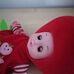 Éneklő eperke baba